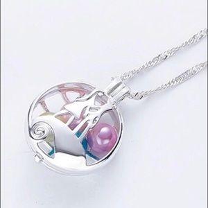 Jewelry - COPY - SALE! Jack & Sally Wish Pearl Cage Charm N…